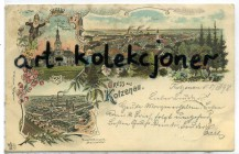 Chocianów - Kotzenau - Litografia