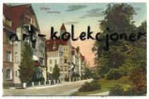 Głogów - Glogau - Leopoldring - Kamienice