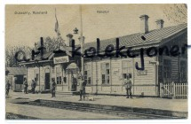 Dukszty - Dukschty - Dworzec - Peron